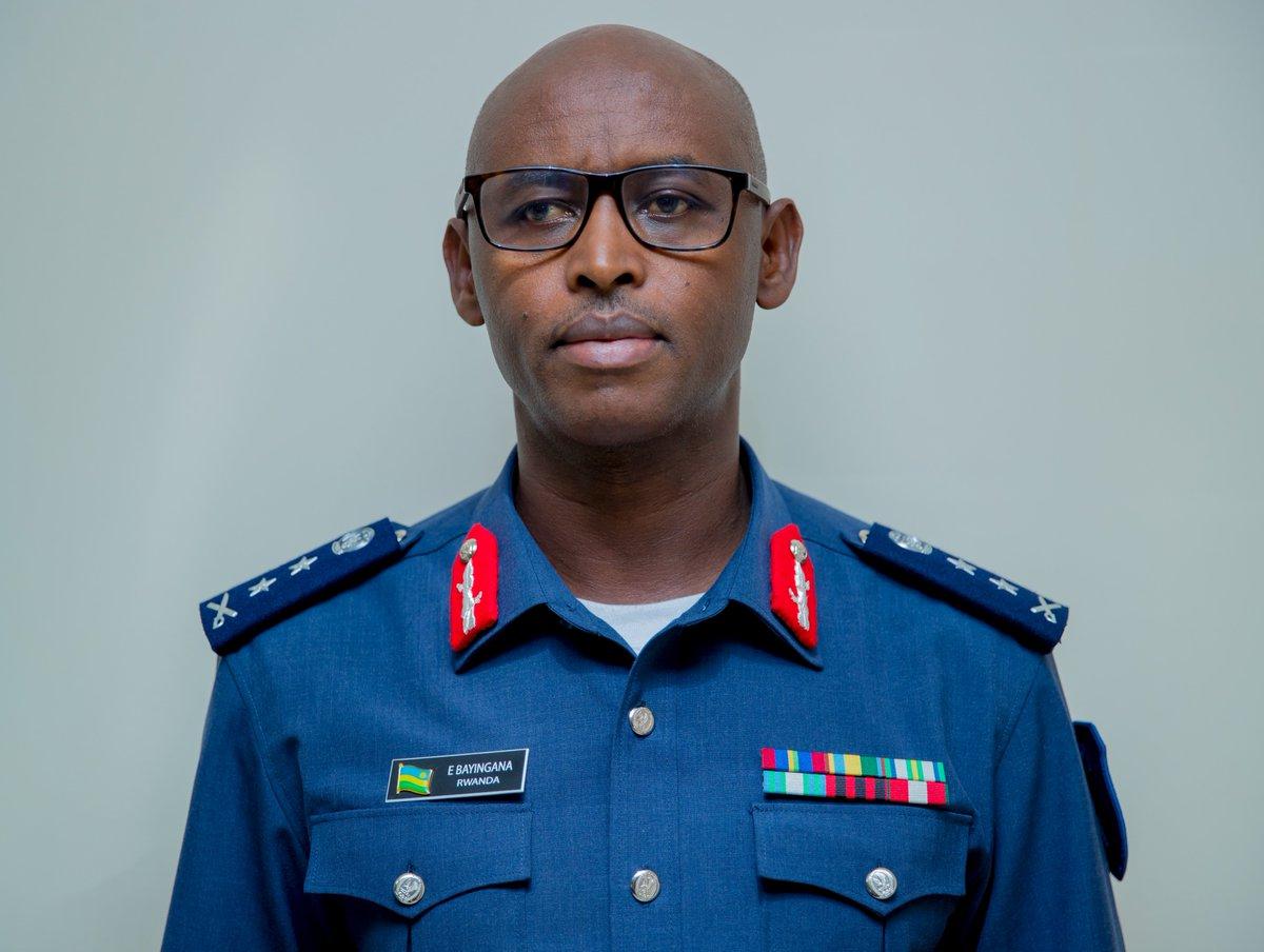 "SESONGA Junior📷 on Twitter: ""#portrait: RDF Air Force Chief of Staff  (AFCOS), Maj Gen Emmanuel BAYINGANA… """