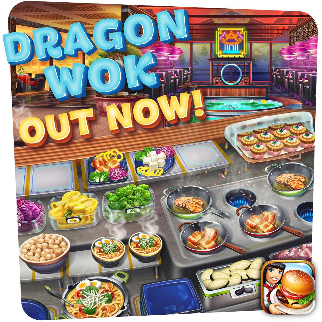 It's out now!  Sharpen your cooking skills with delicious and intricate dishes in the Alpine Resort's newest restaurant - Dragon Wok!  Update is available for iOS and Android, other platforms will be ready very soon! Have fun cooking! https://t.co/gjPCpgCrbk