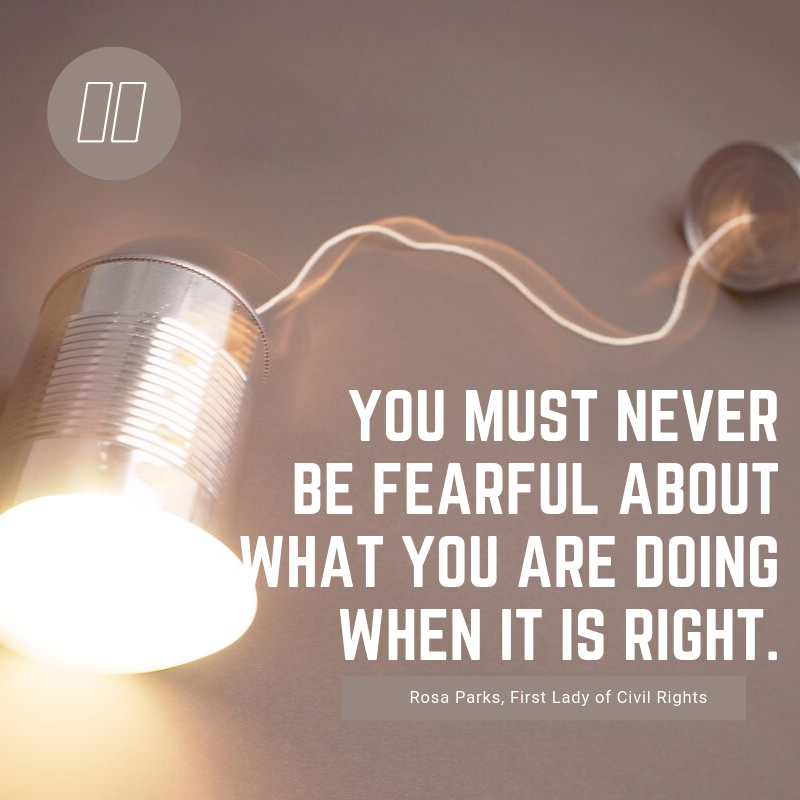 """""""You must never be fearful about what you are doing when it is right."""" Rosa Park #stemeducation #stemshow #robotics #summerville #techmo#science #technology #engineer #art #math #techmolearning  #teencenter #afterschoolcenter #stemwednesday #volunteer #teenleaders #youthmentorspic.twitter.com/s9kZsJ7bub"""