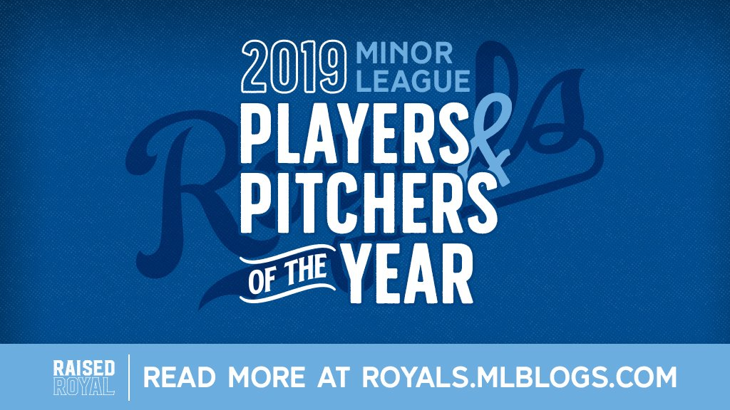Congratulations to our Minor League Players and Pitchers of the Year! #RaisedRoyal 👉 bit.ly/2mDeQld