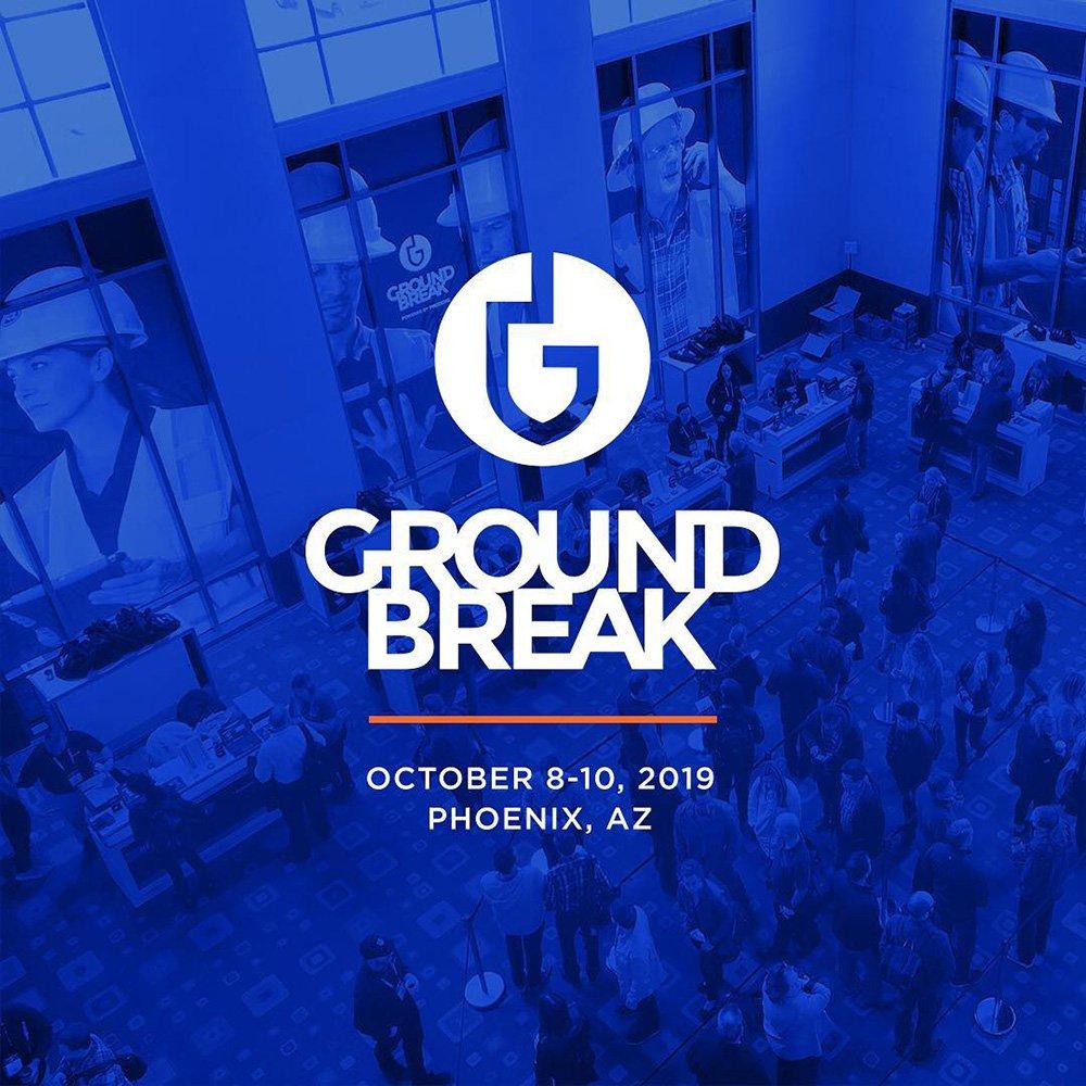 Image for the Tweet beginning:  Attending Groundbreak 2019 in