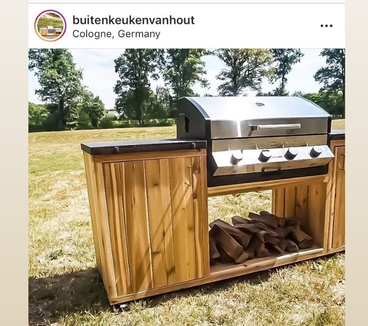 Cadac Uk On Twitter Our Meridian Built In Bbq Proving Its Sleek