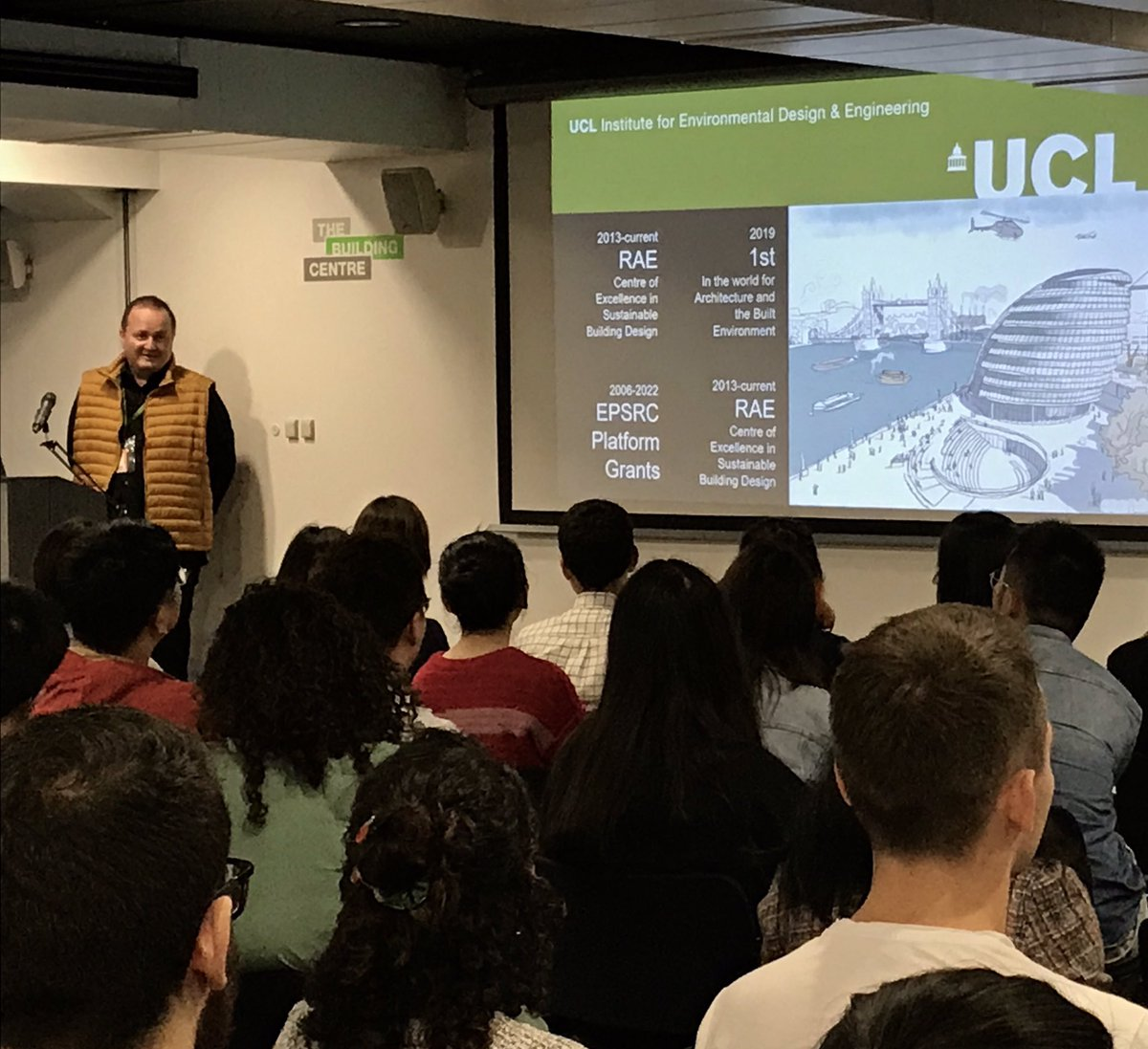 Ucl Inst For Environmental Design And Engineering On Twitter We Re Welcoming Over 130 Students To Our Four Master S Programmes This Academic Year Prof Dejan Mumovic Welcomes Them To Ucl Iede And Bartlettucl