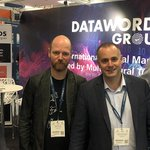 Image for the Tweet beginning: Our Datawords Group team in