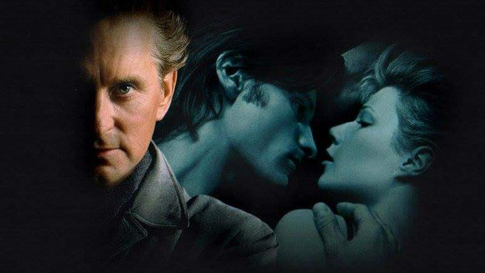 """Happy Birthday to Michael Douglas, who starred with Viggo Mortensen in \""""A Perfect Murder (1998)  © Warner Brothers"""