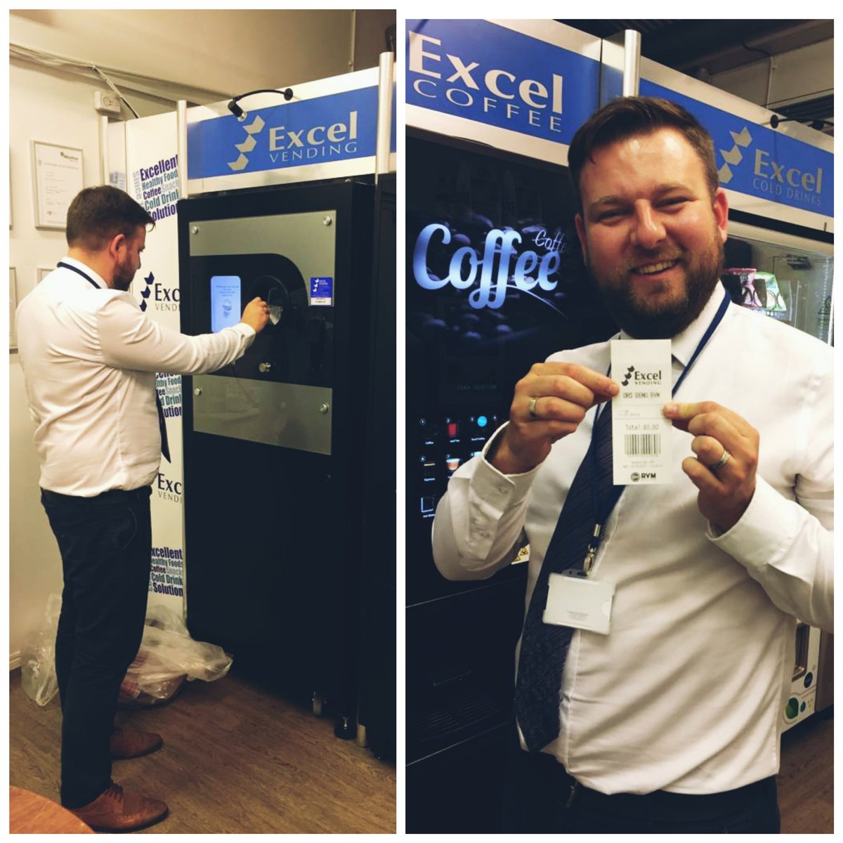 Great day today catching up with our friends at @ExcelVendingLtd, even got to use their fanatsic #ReverseVending machines!  @cfcnath @JoVB https://t.co/YlXNyVqy2j