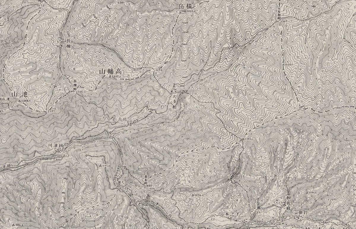 一本道しかない大多和集落であるが、過去には各方面への道が通じていた。そして現在からは想像できないが、有峰よりも山之村との結びつきが強かった。Fさんのルーツは源氏であり、長野から流れてきたそうだ。もしかすると、大多和の祖先は長野から山之村を経由してこの地にやってきたのかもしれない。