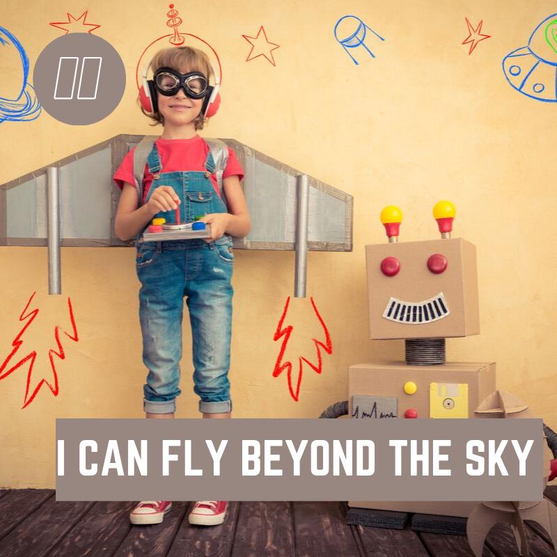 """I can FLY beyond the Sky! ""  #stemeducation #stemshow #robotics #summerville #techmo#science #technology #engineer #art #math #techmolearning  #teencenter #afterschoolcenter #stemwednesday #volunteer #teenleaders #youthmentorspic.twitter.com/JWi8ssGPcx"