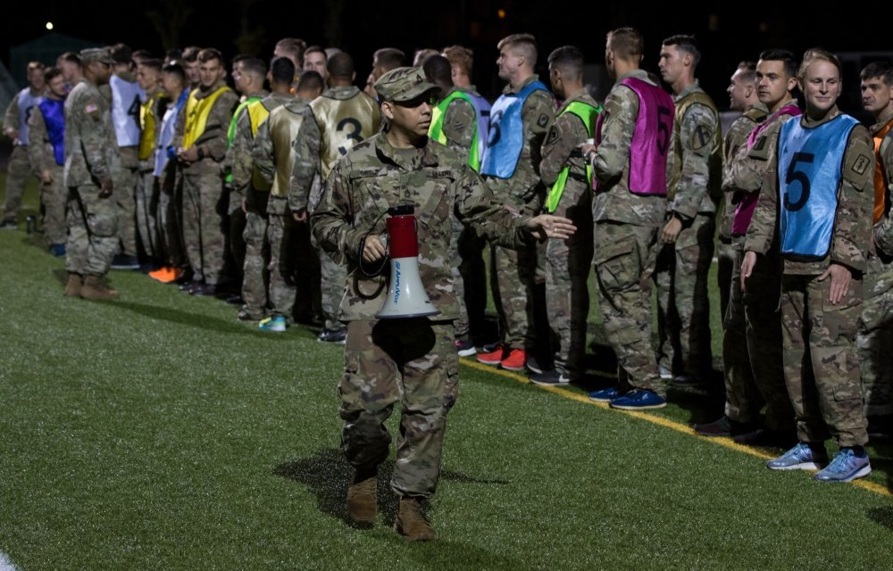 The 2019 #USArmy Best Medic Competition is underway! #APFT Hooah #ArmyMedicine