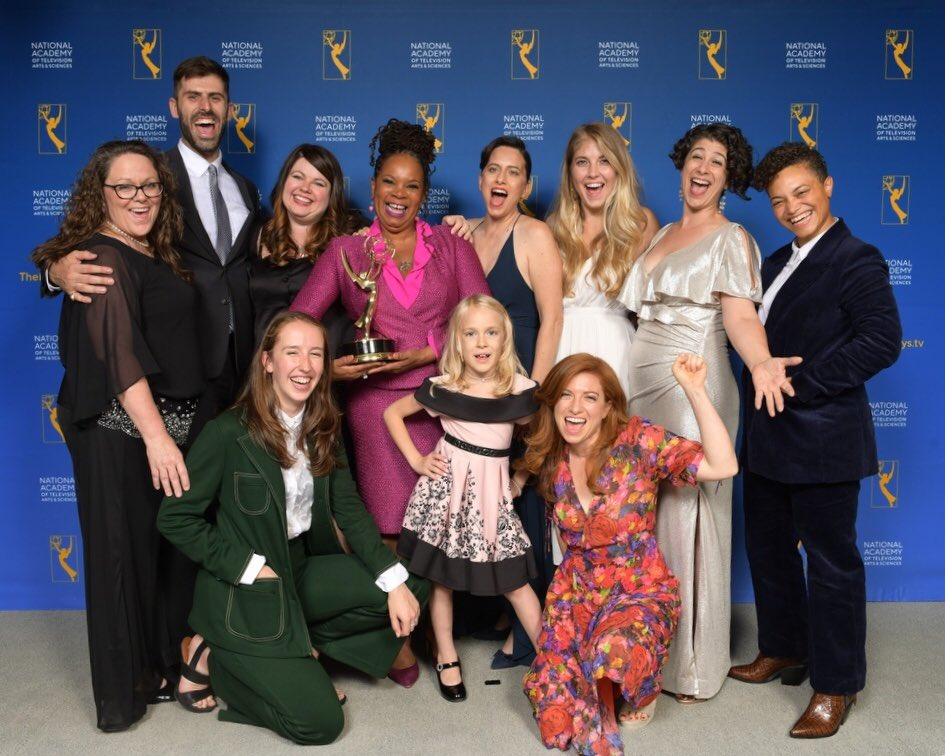 We won an Emmy! So proud of our whole beautiful team + honoured to have produced this film, telling Kai and @shappleyk's extraordinary story. To trans folks everywhere: we say with our films + our presence at the #Emmys2019 that all trans people are valued and will not be erased