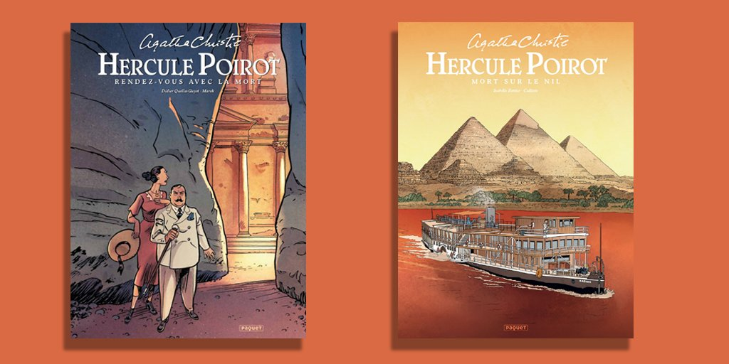 We wanted to share these beautiful recent releases from @GroupePaquet in honour of #ComicBookDay 😍.
