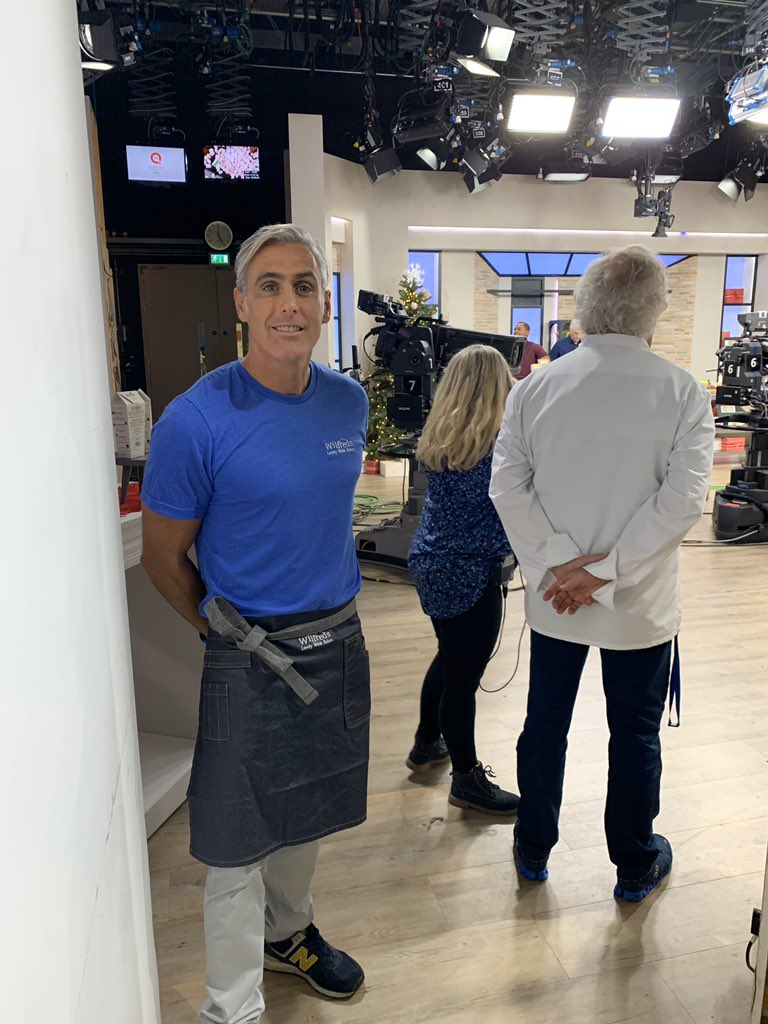 test Twitter Media - Big thanks to the team @JS_Products for sorting out our new super cool denim aprons and T-shirt's for Andi peters food fest on @qvcuk we are live at around 6:30 https://t.co/QumH67INtF
