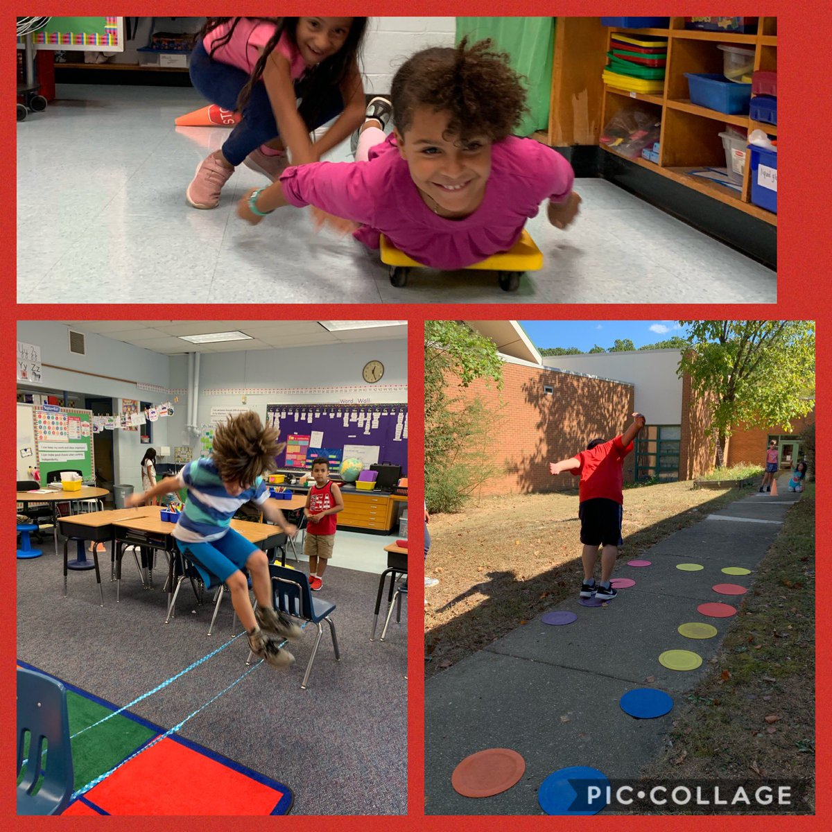 Using our bodies to explore Newton's Three Laws of Motion! <a target='_blank' href='http://twitter.com/CampbellAPS'>@CampbellAPS</a> <a target='_blank' href='https://t.co/VKYFb5GUkV'>https://t.co/VKYFb5GUkV</a>