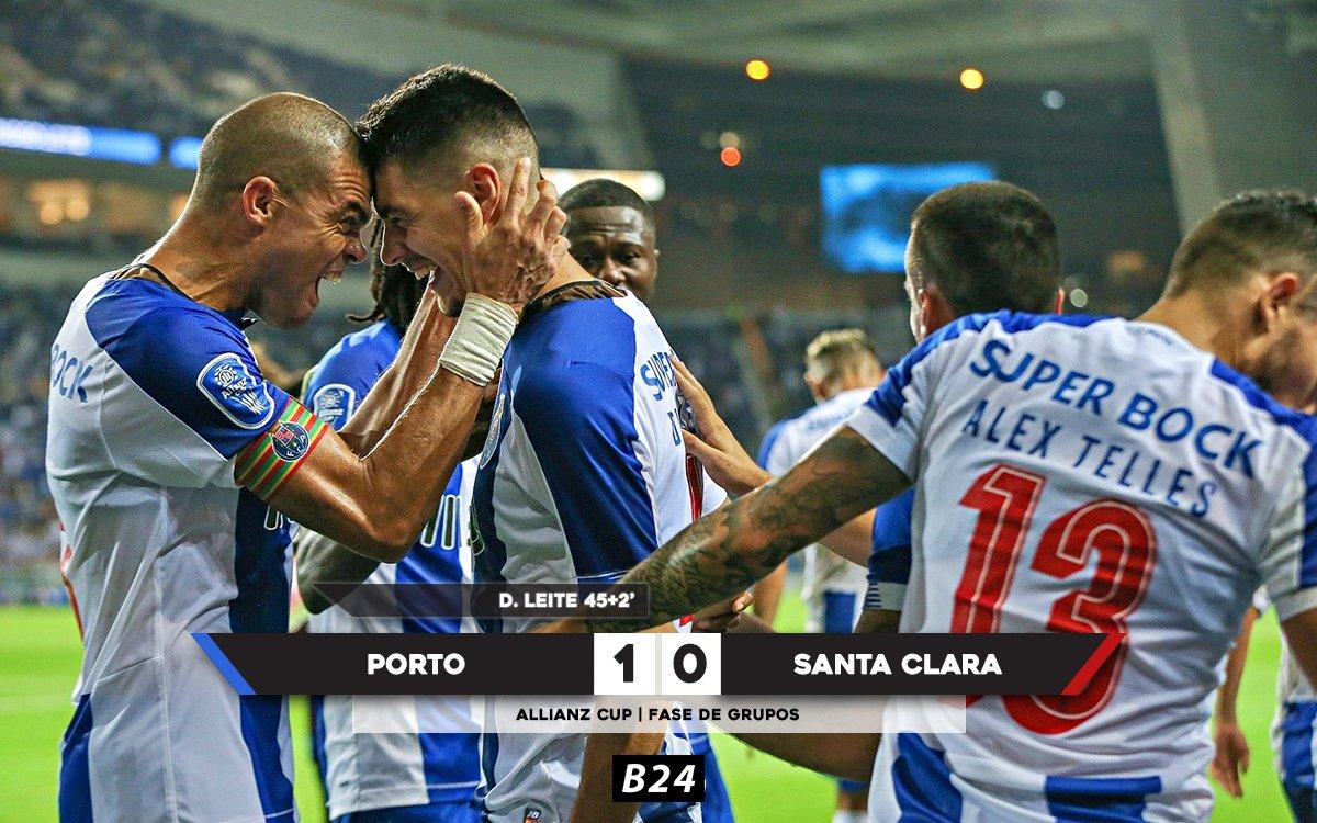 Porto arranca a Allianz Cup com um triunfo sobre o Santa Clara.