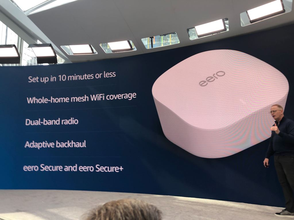 Amazon introduces new $99 Eero mesh Wifi routers by @etherington