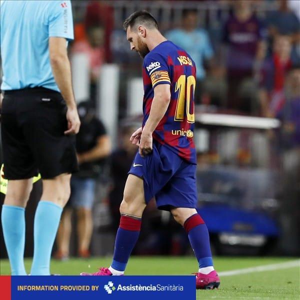 Месси должен восстановиться от травмы к матчу с «Реалом»