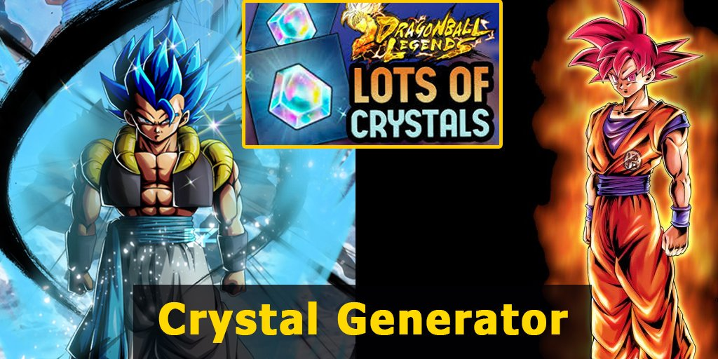Dragon Ball Legends Chrono Crystal Generator