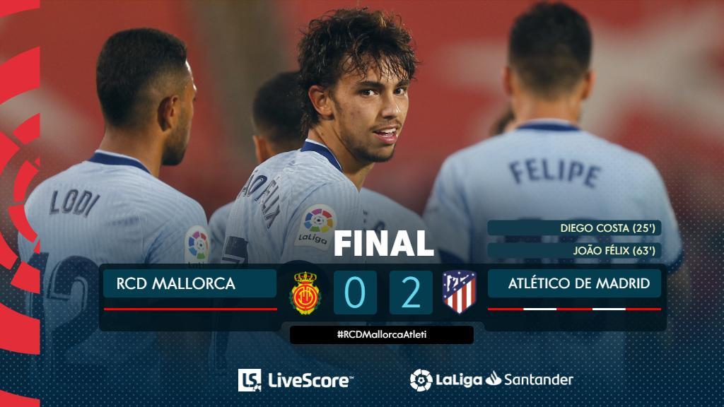 Majorque-Atletico