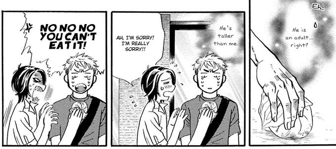 Mangacap from You're Too Greedy, Sumida-kun!