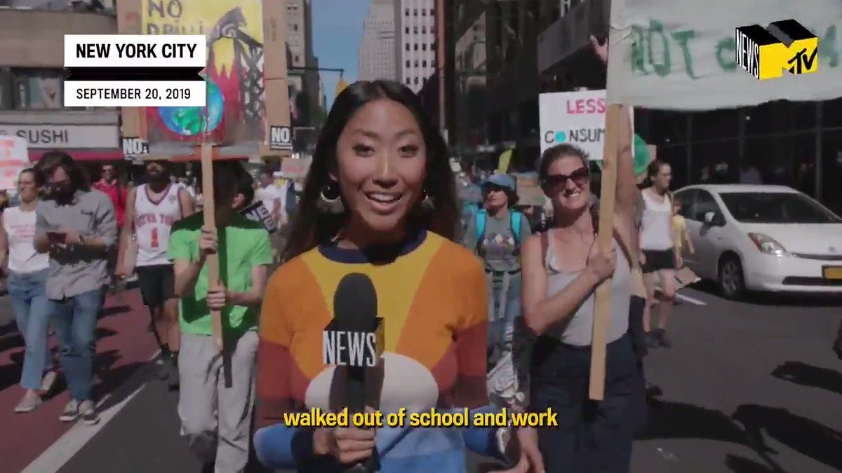 The Global #ClimateStrike last week was the biggest climate protest in history and there's another day of action scheduled for this Friday. @YoonjKim caught up with young activists of color who helped lay the groundwork for this massive movement