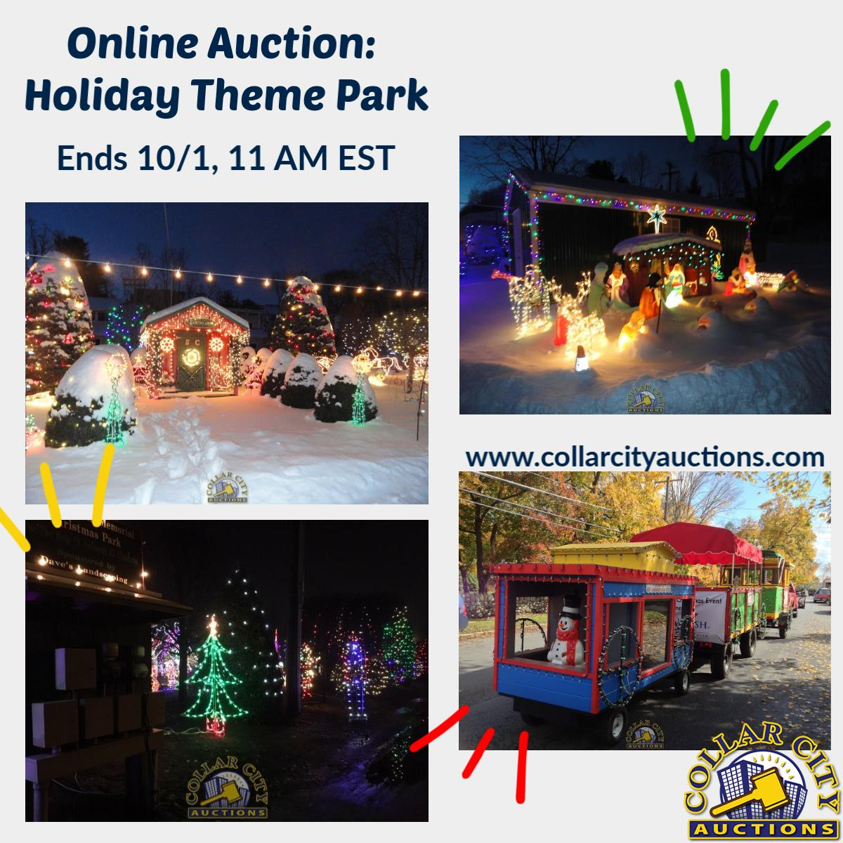 Collarcityauctions On Twitter Holiday Theme Park 71 Lyon Street Amsterdam Ny 12010 Montgomery County Once In A Lifetime Business Opportunity Currently Being Used As An Extraordinary Christmas Village For Additional Information Visit