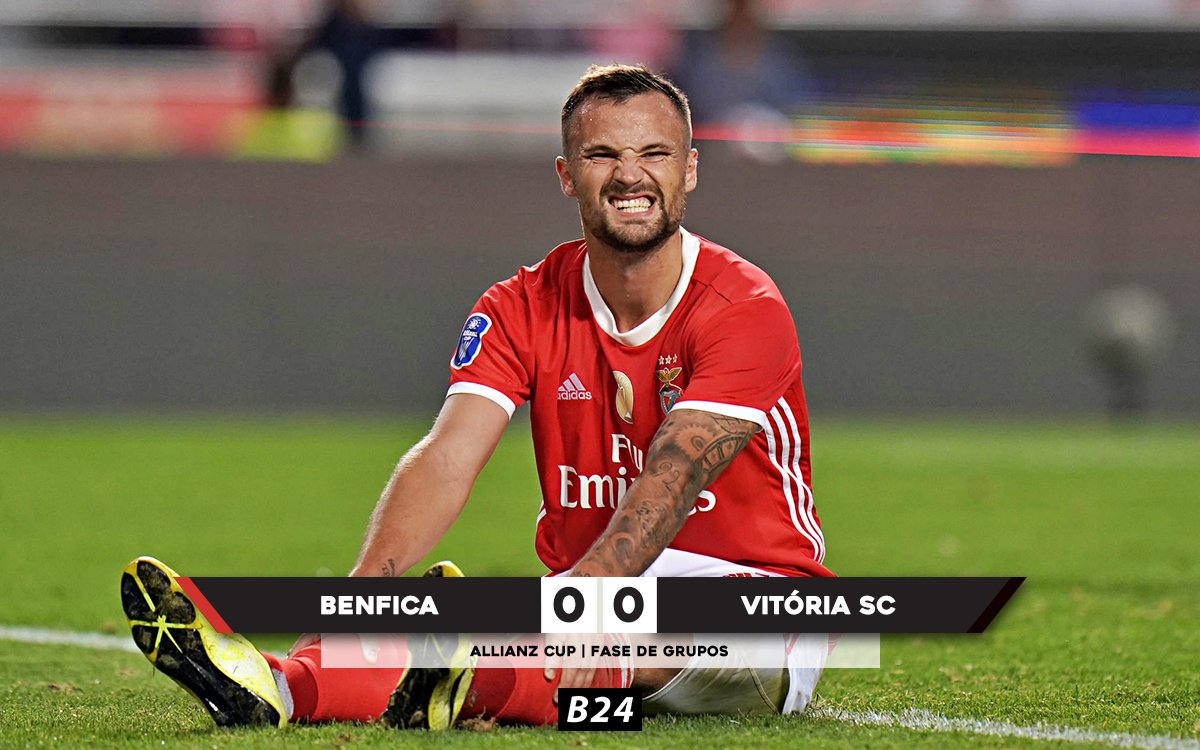 Benfica empata a zero com o Vitória SC na Allianz Cup.