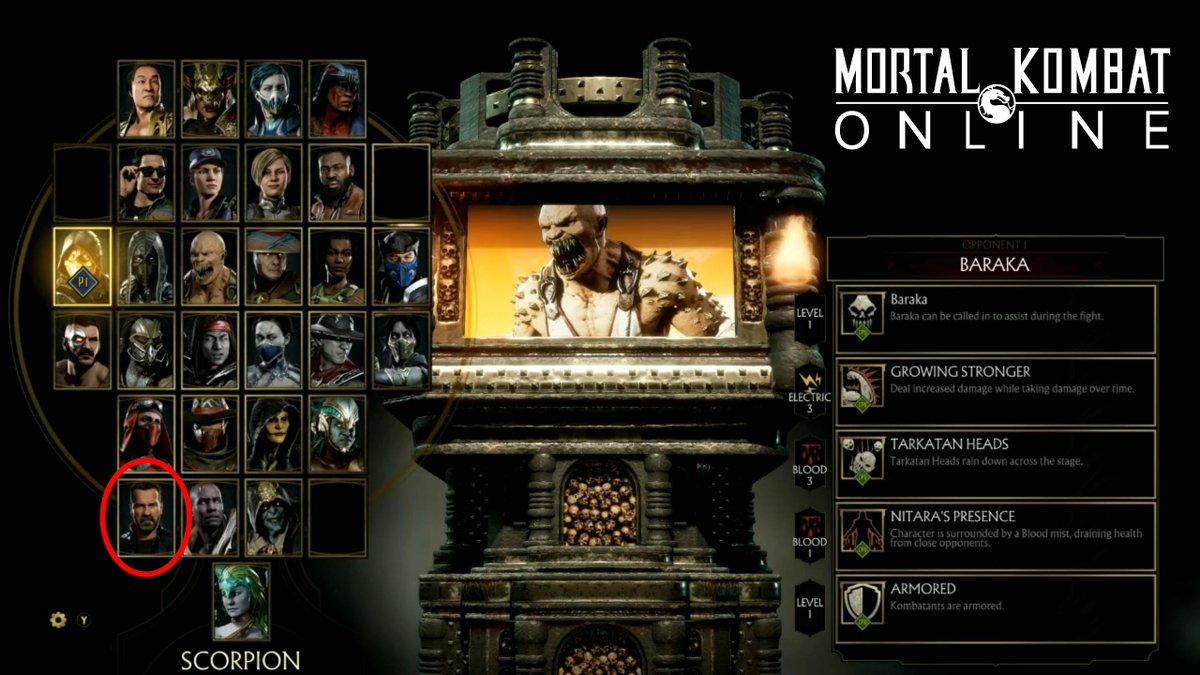 Tv Pc Kast.Mortal Kombat Online Pa Twitter Terminator Arnold