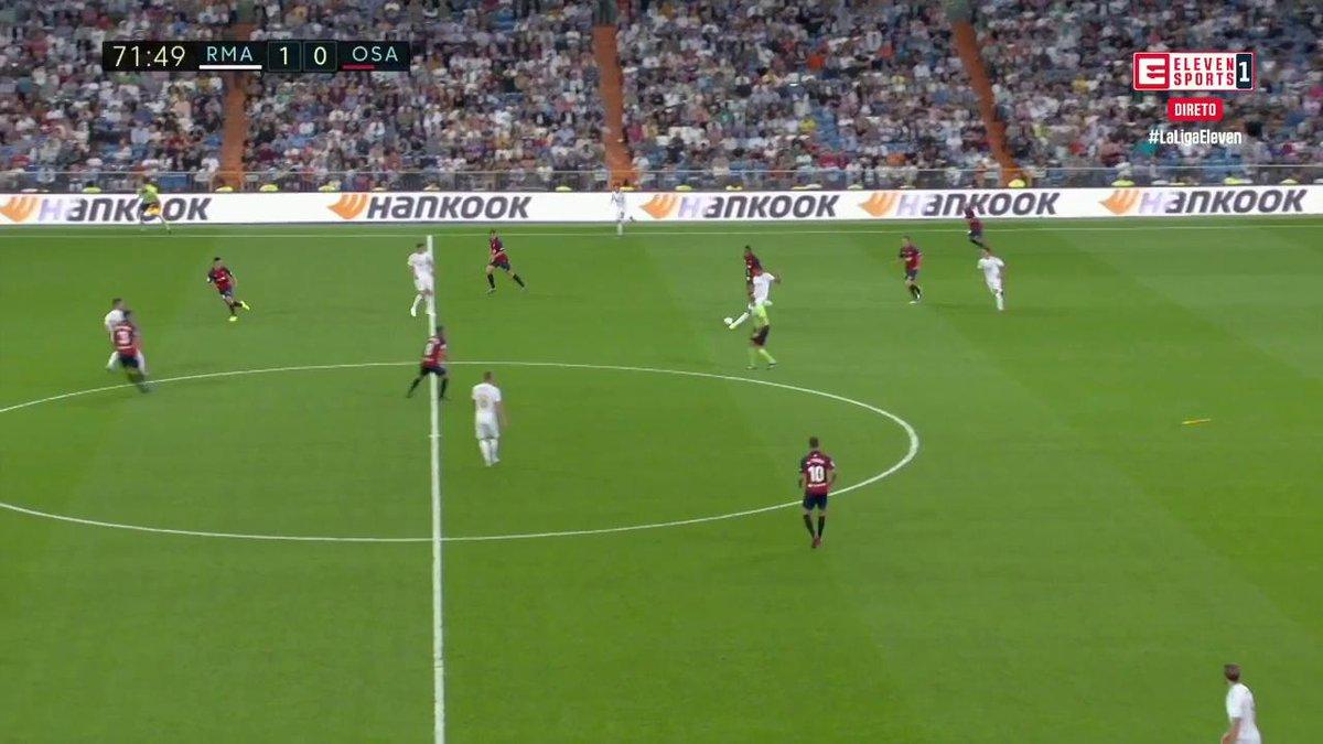 Rodrygo estreia-se a marcar pelo Real Madrid um minuto depois de entrar em campo.