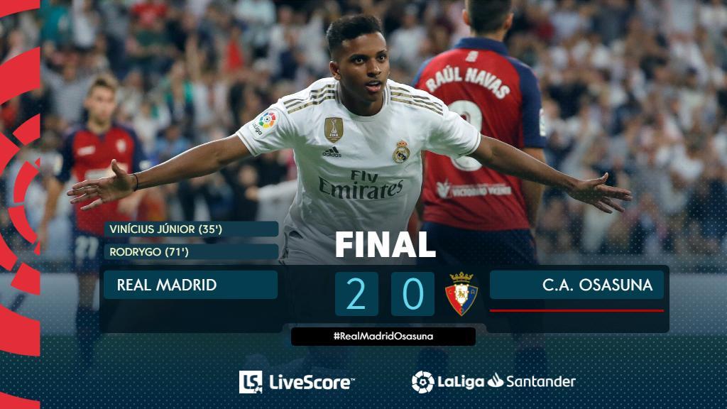 Real Madrid-Osasuna