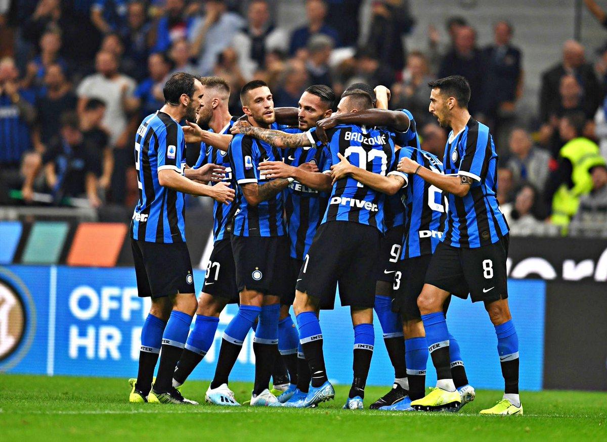 5 jogos 5 vitórias 10 golos marcados 1 golo sofrido Estará de volta o Inter?