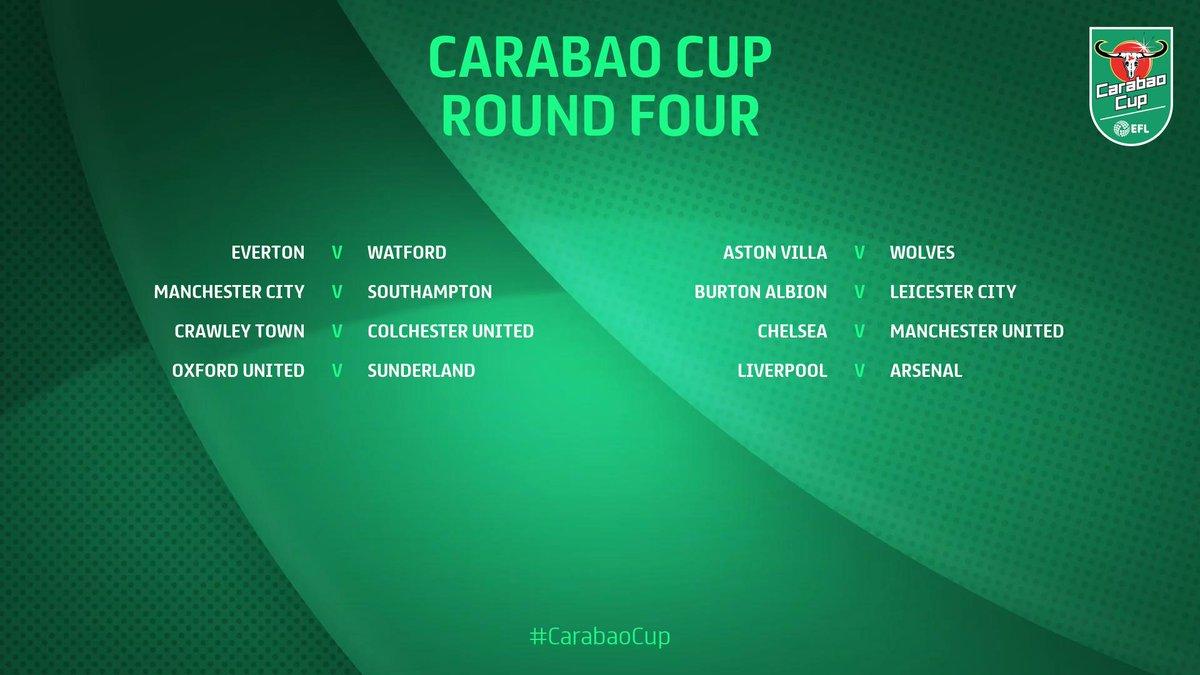 8es de finale Carabao Cup