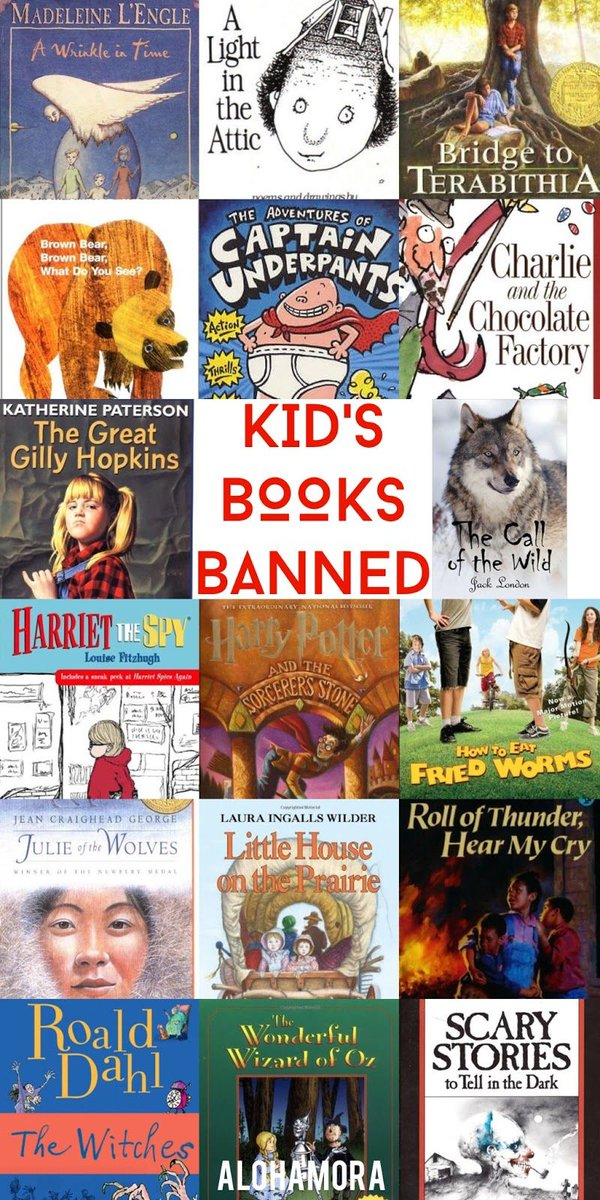 Anyone read any of these banned books? #risdsaysomething