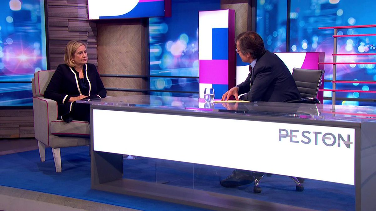 .@AmberRuddHR admits that a Second Referendum 'would probably be better than a General Election' which may not solve anything. #Peston