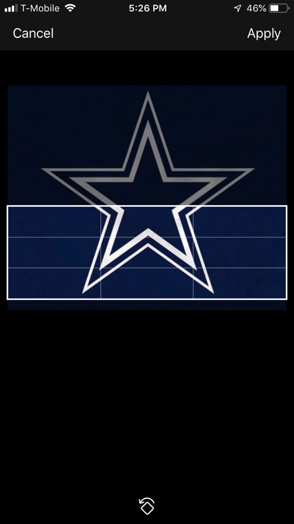 i can't fit the Dallas Cowboys in my header 🥺🥺