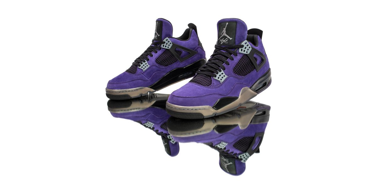 Travis Scott, this Air Jordan 4