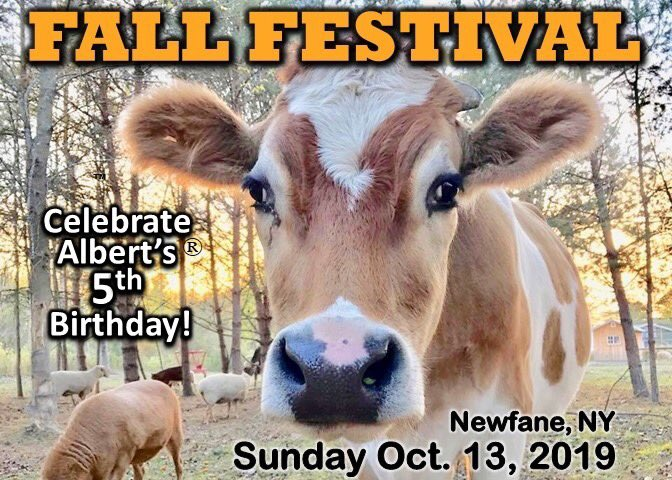 Advance Online Discount Tickets now available at http://www.ashasanctuary.com/2019-fall-festival.html… #ashasanctuary #fallfestival #autumn #albertthesupercow #familyfun #compassion #rescue #love #animals #bekind #bethechange #friendsnotfood #party #birthday #birthdayparty #goodtimes #ny #buffalo #Rochesterpic.twitter.com/WsfkdanRgs