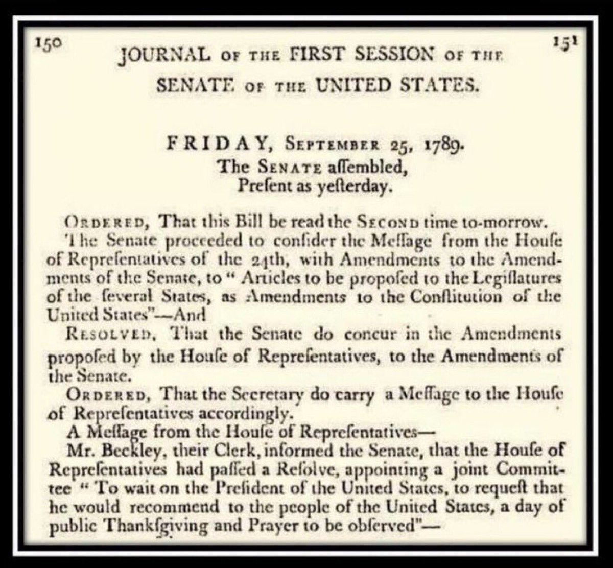 Congress sent Bill of Rights and two other proposed Constitutional amendments to the states, 230 years ago today:
