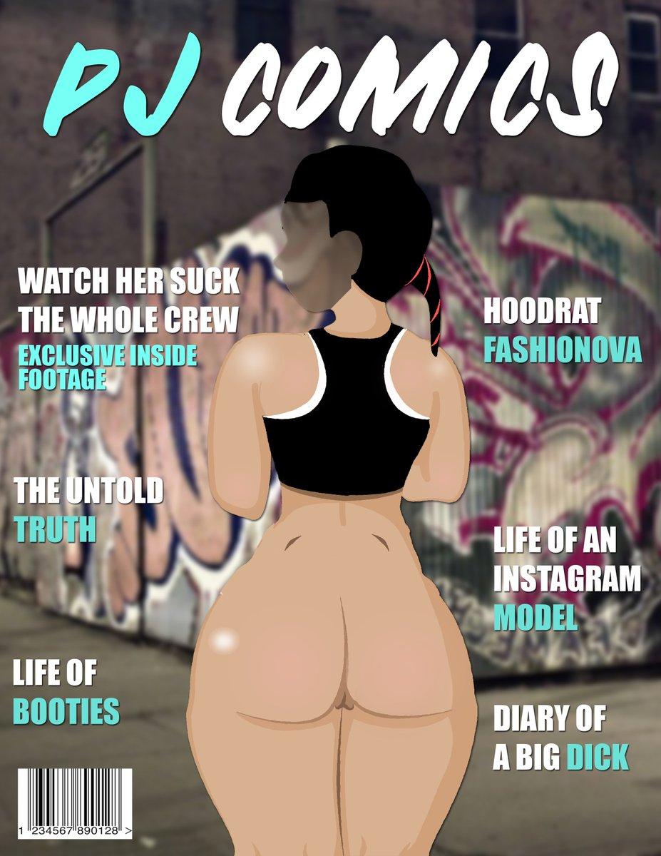 Nude version #nsfw #nsfwart #art #digitalart #hentai #anime #pjcomics #booty #hood #ghetto #hoodrat #comics #comicbook #magazine #xxxmagazine #playboy