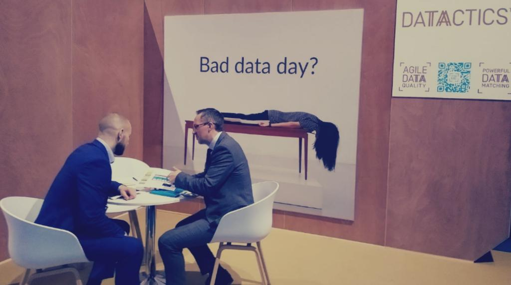 Meaningful conversations happening at #Sibos   Having a #BadDataDay? Stop by Stand  and explore the flexibility of our solutions when dealing with #AllThingsData at #DiscoverZone #Sibos2019   #DataQuality #RegTech #Compliance #DataOps #Sibos19 #FinTech @InvestNI_Europe<br>http://pic.twitter.com/OHRShxG9Tb