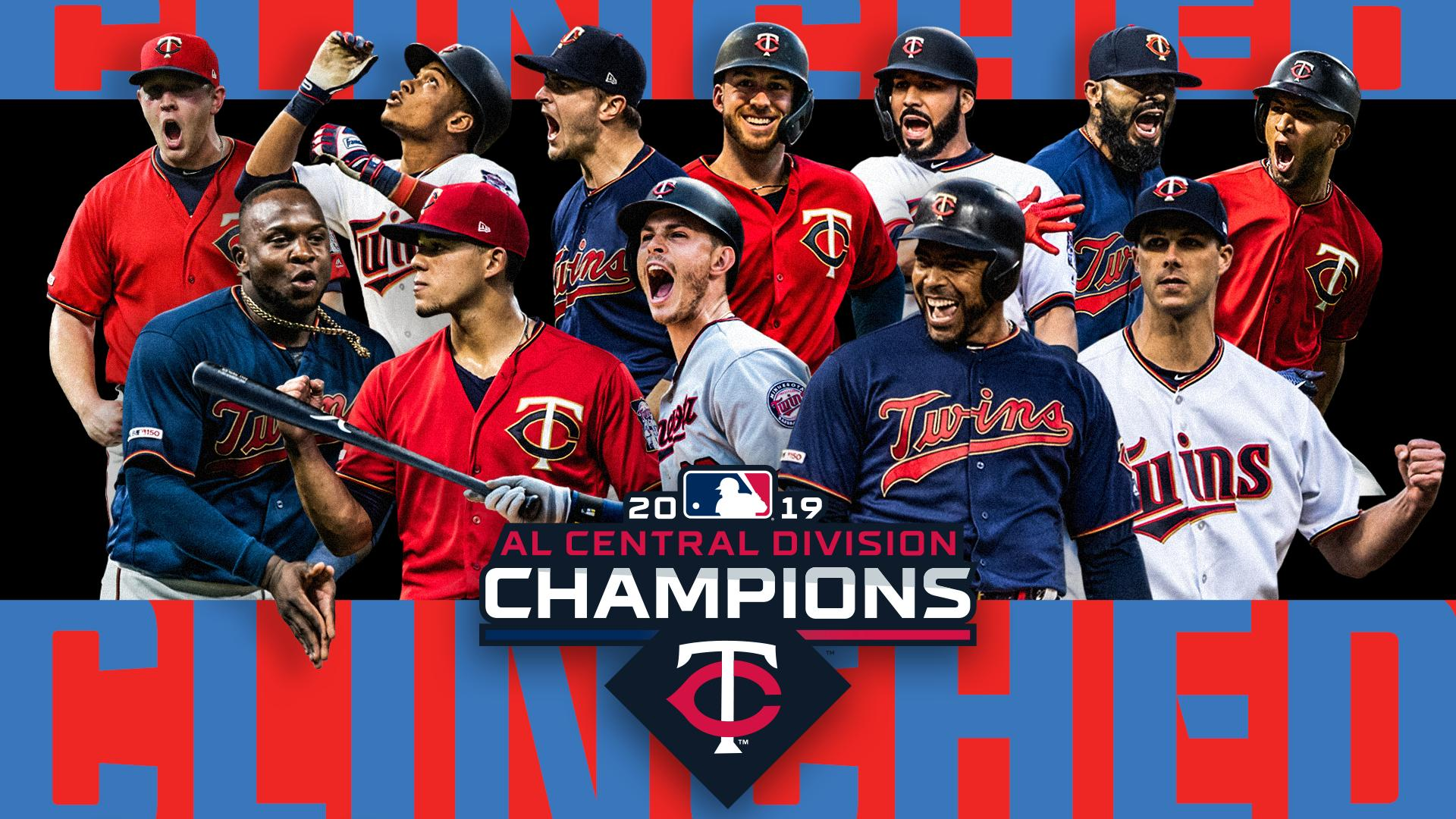 Image result for minnesota twins AL central champs