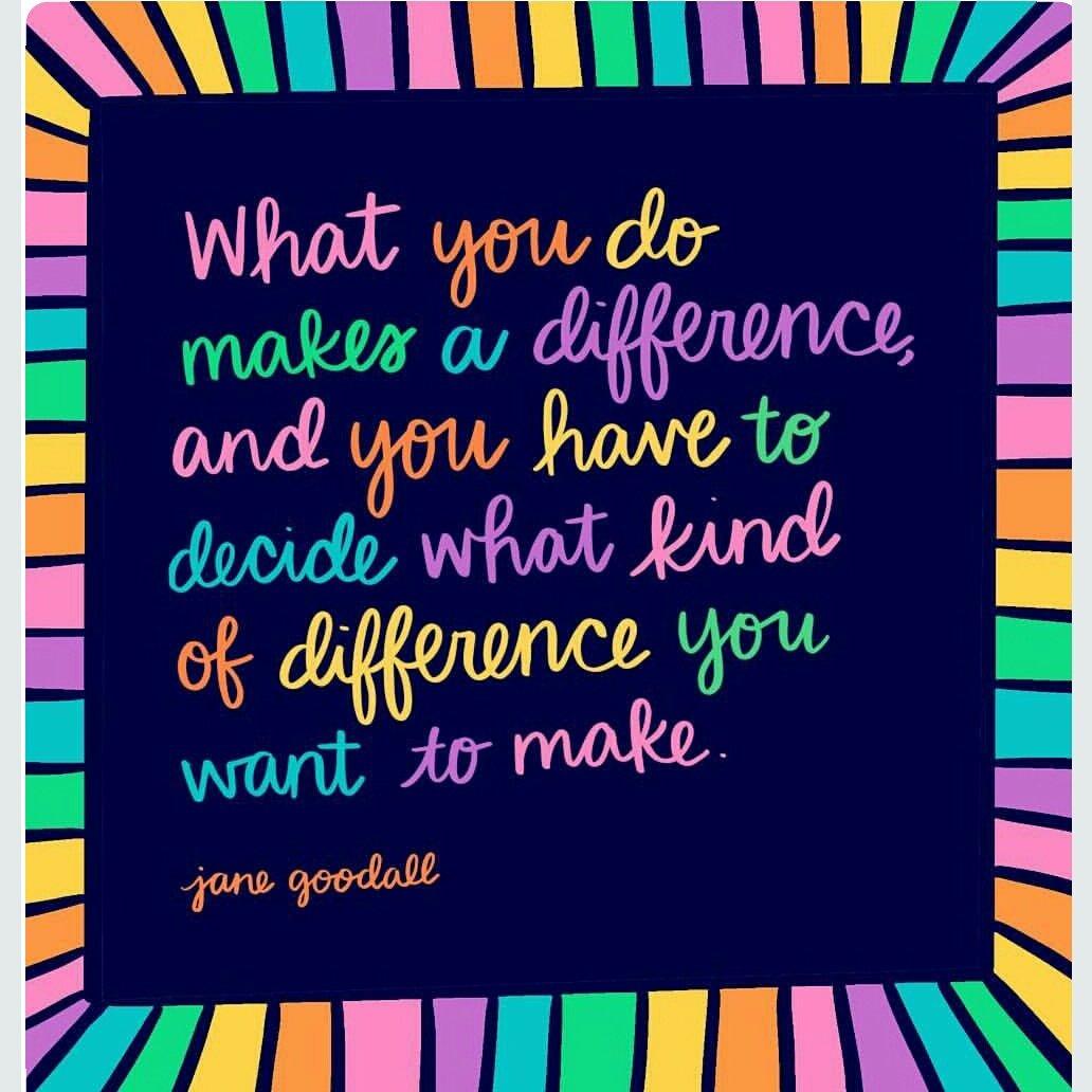 Decide what kind of difference you want to make! #JoyTrain #SuccessTRAIN #Joy #Success RT @PrachiMalik