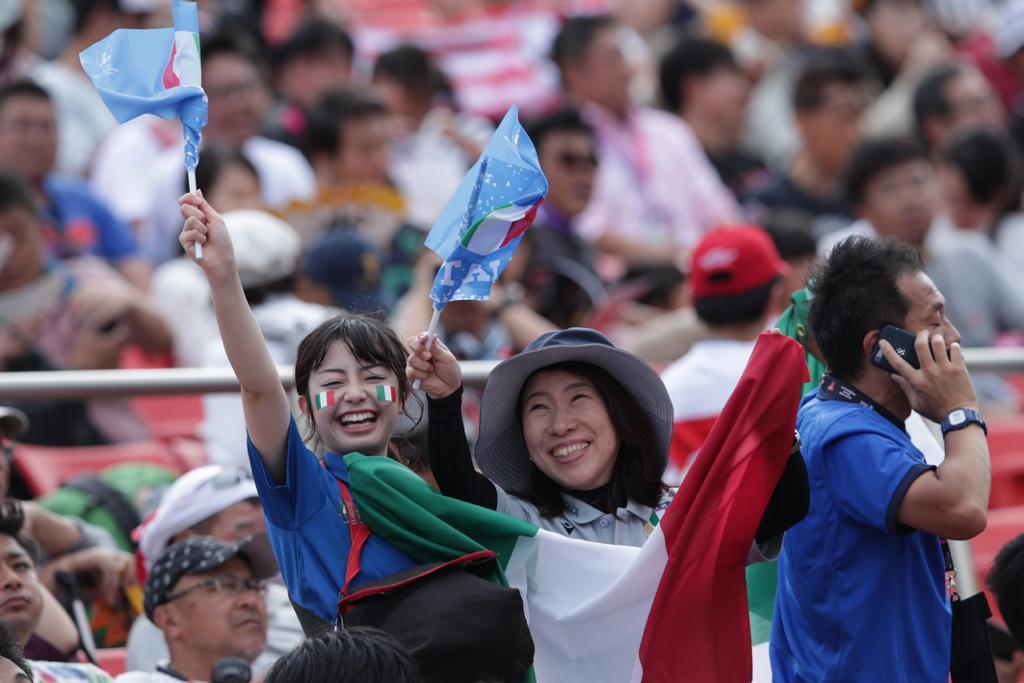 Pronti a sostenere #Italrugby in 3⃣ 2⃣ 1⃣... #ITAvCAN, kick off alle 9.45 (ITA) 🔥 #RWC2019 #Insieme #rugbypassioneitaliana