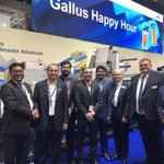 Image for the Tweet beginning: Labelexpo Europe 2019: Gallus announces