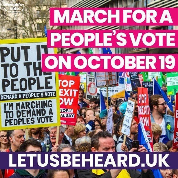 Help us leaflet locally for People's Vote million plus march on 19 October in London. Local #jobs at #BMW #MINI depend in it. Click here for March letusbeheard.uk - and to help locally please email roy.openbritainthame@gmail.com #LetUsBeHeard #PeoplesVote