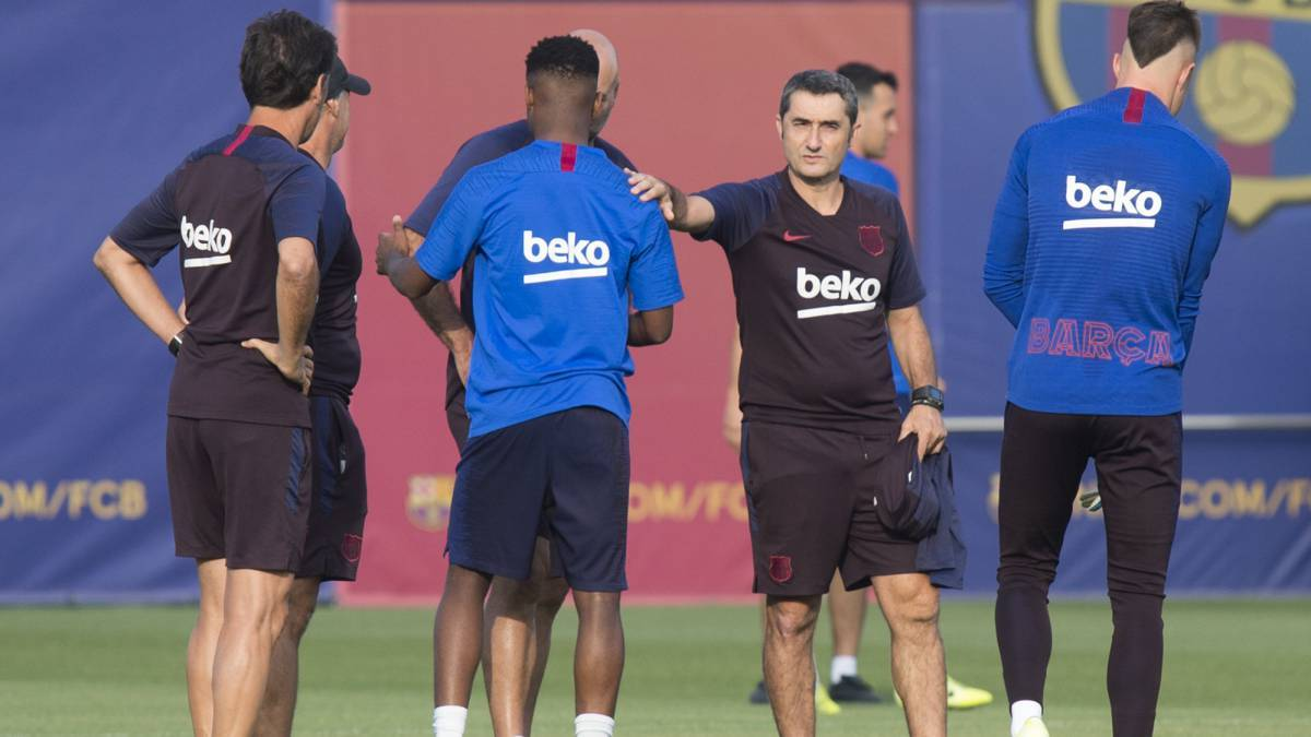 📰 [AS] | Valverde, between Ansu and a 4-4-2 security for Getafe 🔶 If the Guinean or Dembélé starts, the technician will keep the 4-3-3 formation 🔷 He could also put another midfielder to strengthen the team and return Griezmann to his ideal position