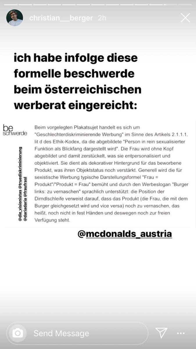 Gunter Struchen 184 Mc Donalds Sozialhilfe