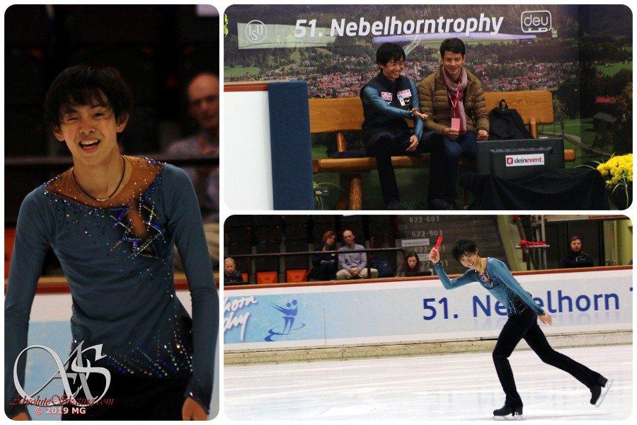 Challenger (5) - Nebelhorn Trophy 2019. 25 - 28 Sep 2019 Oberstdorf / GER EFY7UAqWsAA21Ku?format=jpg&name=medium