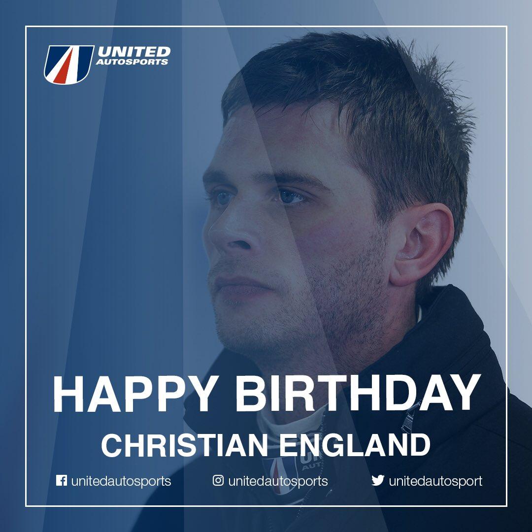 Happy birthday @ChristianEngla1 🥳 #BeUnited