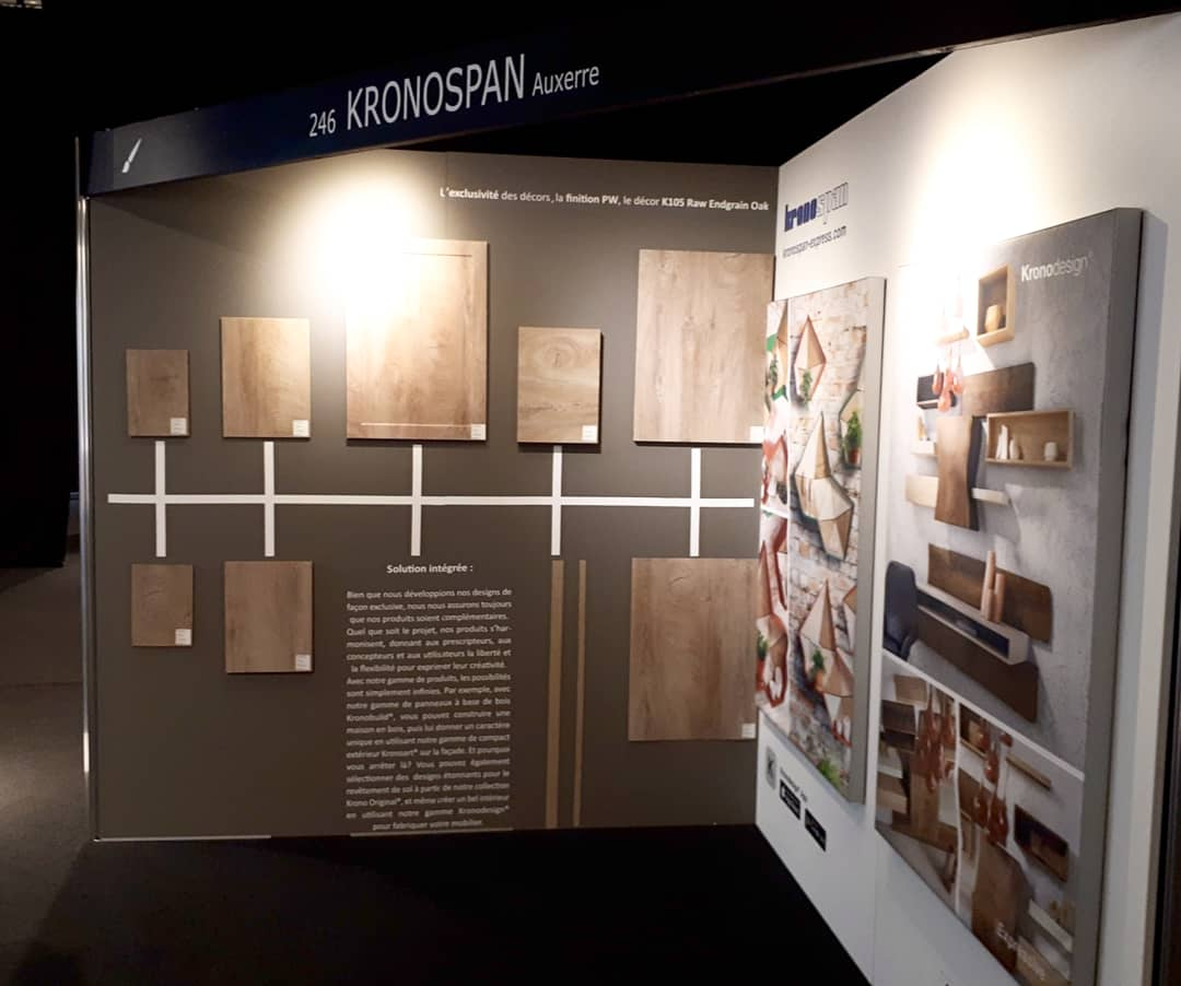 Join us today or tomorrow at the Paris Event Center, stand number 246 to discover our coordinated solutions for your interior projects.   #Kronospan #Kronodesign #CoordinatedSolution #ATWFR #Architectatwork #Architecture #Design #WoodBasedMaterials #MelamineBoards #MFPB https://t.co/fK0QIzHQ2H