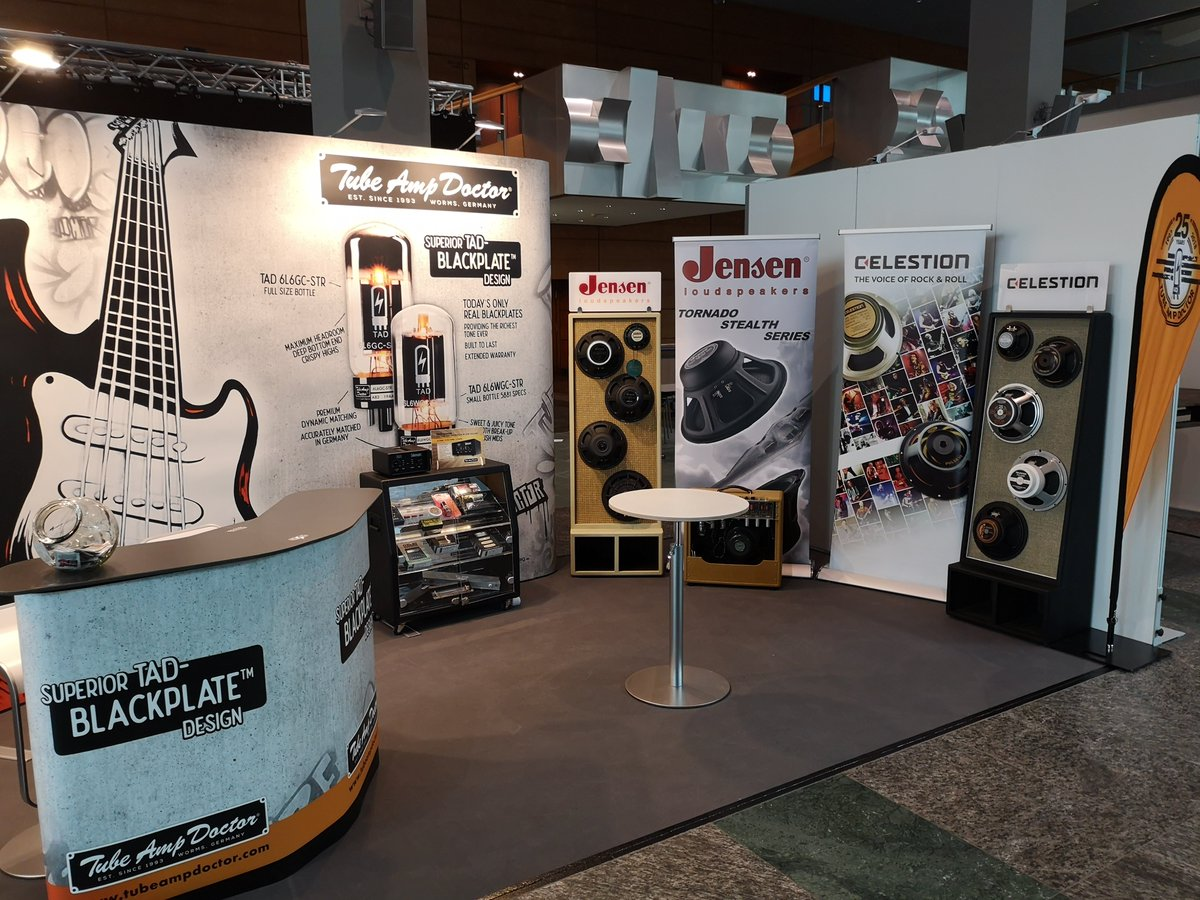 We are ready to rock that Guitar-Summit! See us at  our booth #132. #guitar #summit #germany #mannheim #rock #blues #tubes #speaker #letitrock https://t.co/Jur1ABtA2x